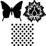 Jenni Bowlin - Foam Stamps - Whimsical
