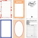 Jenni Bowlin Studio - The Farmer's Wife Collection - Journaling Cards, CLEARANCE