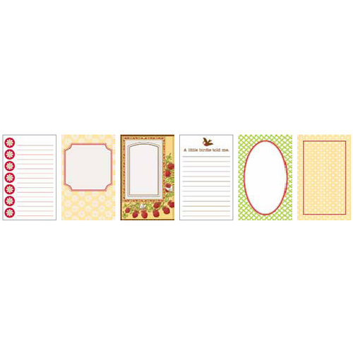 Jenni Bowlin Studio - Front Porch Collection - Journaling Cards, CLEARANCE
