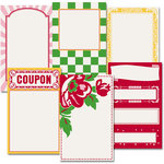 Jenni Bowlin Studio - Homespun Collection - Journaling Cards, CLEARANCE