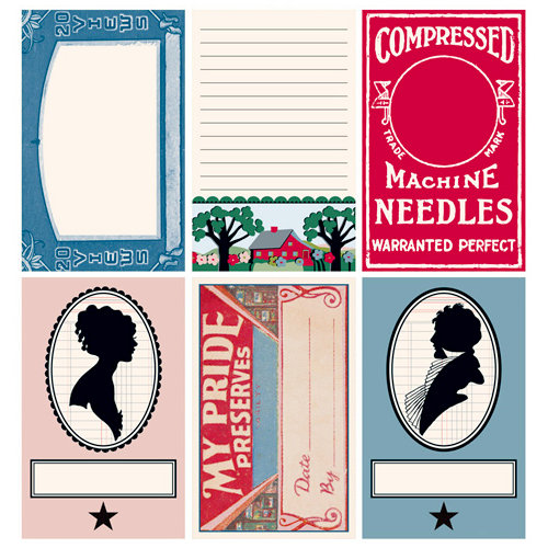 Jenni Bowlin Studio - Be Our Guest Collection - Journaling Cards