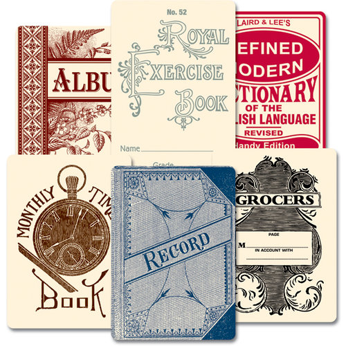 Jenni Bowlin Studio - Vintage Mini Deck - Book Covers