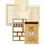 Jenni Bowlin Studio - Memo Book - Brown