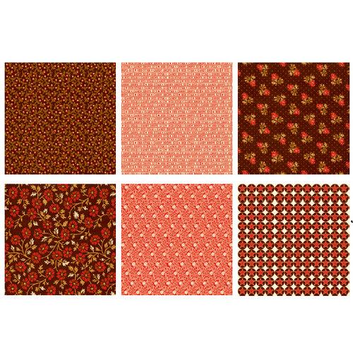 Jenni Bowlin Studio - Town Square Collection - Mini 4 x 4 Paper Set