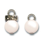 Jenni Bowlin Studio - Pearl and Rhinestone Charms - Cream