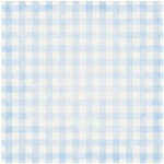 Jenni Bowlin Studio - Baby of Mine Collection - 12 x 12 Paper - Blue Gingham