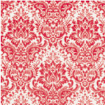 Jenni Bowlin Studio - Trendy Collection - 12 x 12 Patterned Paper - Red Wallpaper