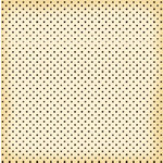 Jenni Bowlin Studio - Red and Black Collection - 12 x 12 Patterned Paper - Black Micro Dot