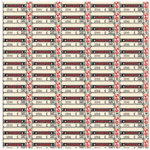Jenni Bowlin Studio - Red and Black II Collection - 12 x 12 Paper - Coupon