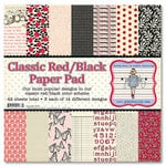 Jenni Bowlin Studio - Red and Black Collection - 12 x 12 Paper Pad