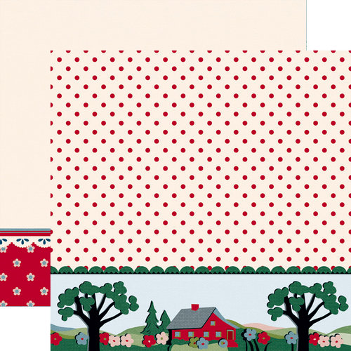 Jenni Bowlin Studio - Be Our Guest Collection - 12 x 12 Double Sided Paper - Home Sweet Home