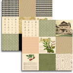 Jenni Bowlin Studio - Haven Collection - 12 x 12 Double Sided Paper - Mini Pattern Sheet