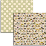 Jenni Bowlin Studio - Magpie Collection - 12 x 12 Double Sided Paper - Collect
