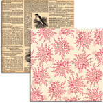 Jenni Bowlin Studio - Wren Collection - 12 x 12 Double Sided Paper - Wheatgrass