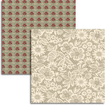 Jenni Bowlin Studio - Wren Collection - 12 x 12 Double Sided Paper - Lace Curtain