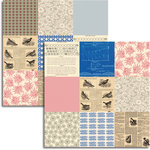 Jenni Bowlin Studio - Wren Collection - 12 x 12 Double Sided Paper - Mini Pattern Sheet