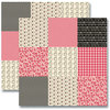 Jenni Bowlin Studio - Red and Black Collection 2012 - 12 x 12 Double Sided Paper - Mini Pattern Sheet