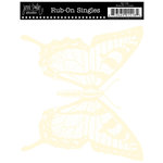 Jenni Bowlin Studio - Rub On Single - Butterfly - Cream, CLEARANCE