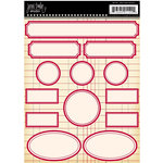 Jenni Bowlin Studio - Label Stickers - Red, CLEARANCE