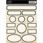 Jenni Bowlin Studio - Label Stickers - Black