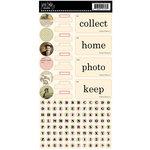 Jenni Bowlin Studio - Cardstock Stickers - Hodge Podge - Magpie
