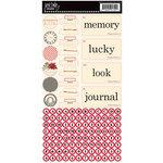 Jenni Bowlin Studio - Cardstock Stickers - Hodge Podge - Souvenir