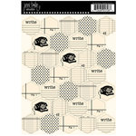 Jenni Bowlin Studio - Cardstock Stickers - Quilted - Memo