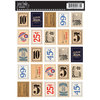 Jenni Bowlin Studio - Cardstock Stickers - Postage Stamp - General Store