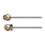 Jenni Bowlin Studio - Pearl and Rhinestone Pins - Antique, CLEARANCE