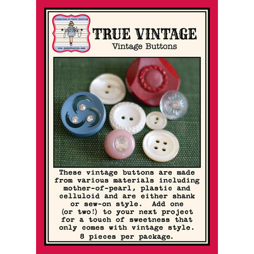 Jenni Bowlin Studio - True Vintage Embellishments - Buttons