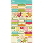 Jillibean Soup - Birthday Bisque Collection - Cardstock Stickers - Shapes