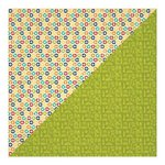 Jillibean Soup - Sightseeing Stew Collection - 12 x 12 Double Sided Paper - Pickled Planes
