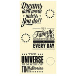 Jillibean Soup - Clear Acrylic Stamp Set - Large - Tiny Stories