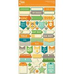 Jillibean Soup - Cool As A Cucumber Soup Collection - Cardstock Stickers - Labels