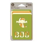 Jillibean Soup - Mini Placemats - 3 x 4 Die Cut Cards - Halloween