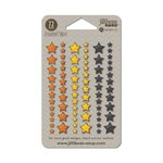Jillibean Soup - Enamel Stars - Halloween - Orange Yellow and Black
