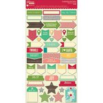 Jillibean Soup - Holly Berry Borscht Collection - Christmas - Cardstock Stickers