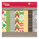 Jillibean Soup - Holly Berry Borscht Collection - Christmas - 6 x 6 Paper Pad