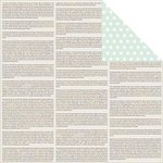 Jillibean Soup - Soup Staples III Collection - 12 x 12 Double Sided Paper - Read Me