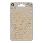 Jillibean Soup - Kraft Tags - Triangle
