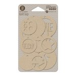 Jillibean Soup - Kraft Tags - Circle