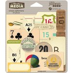 Jillibean Soup - Mix the Media Collection - Ephemera - Cream