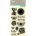 Jillibean Soup - Summer Red Raspberry Soup Collection - Clear Acrylic Stamps - Large Set