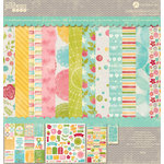 Jillibean Soup - Summer Red Raspberry Soup Collection - 12 x 12 Collection Pack