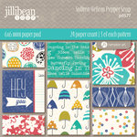 Jillibean Soup - Saffron Yellow Pepper Soup Collection - 6 x 6 Paper Pad
