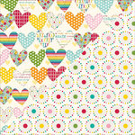 Jillibean Soup - Sew Sweet Sunshine Soup Collection - 12 x 12 Double Sided Paper - Sew Original
