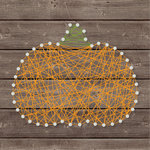 Jillibean Soup - Halloween - DIY String Art - Pumpkin - Solid