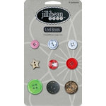 Jillibean Soup - Christmas Eve Chowder Collection - Cool Beans - Christmas Buttons