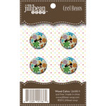 Jillibean Soup - Cool Beans - Wood Buttons - Wood Calico