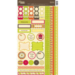 Jillibean Soup - Chicken Noodle Collection - Cardstock Stickers